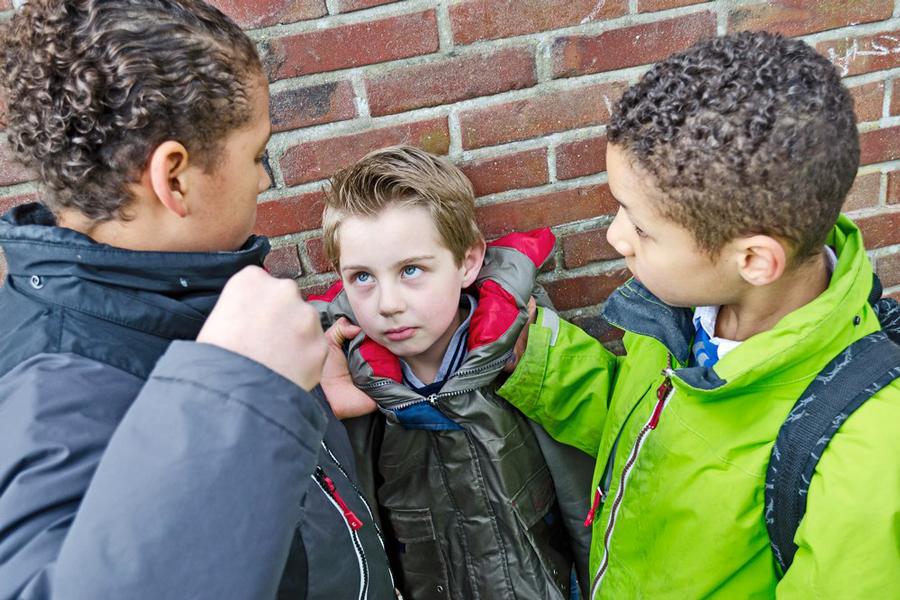 Ребенка в школе обижаютодноклассники