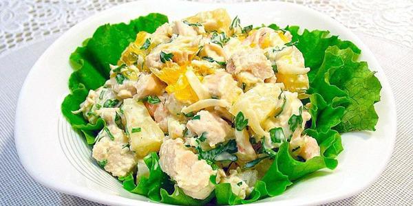 peremeshannyj salat iz kubikov